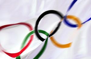 Olympic Flag photo(c)Dave Black       ph 719-636-3510