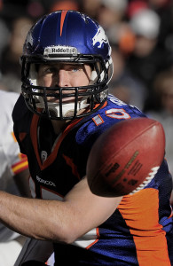 Tim Tebow Denver Broncos 2011