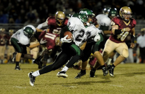 HS Football: Countryside vs Tampa St. Pete, Tampa Florida. 2011