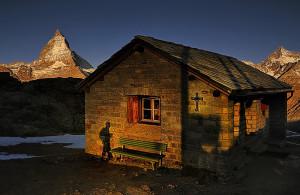 The Matterhorn, Rotenboden Station, Zermatt, Switzerland. 2011